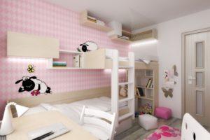 Dětský pokojíček pro 2 holčičky