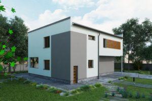 Nová fasáda v moderním stylu