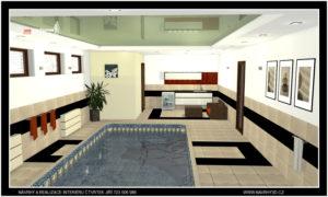 Požadavek na návrh celého domu a jeho ucelení po stránce dezignu vč.realizace naší firmou
