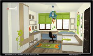 dětský pokoj pro 3 letého chlapce...nadčasový