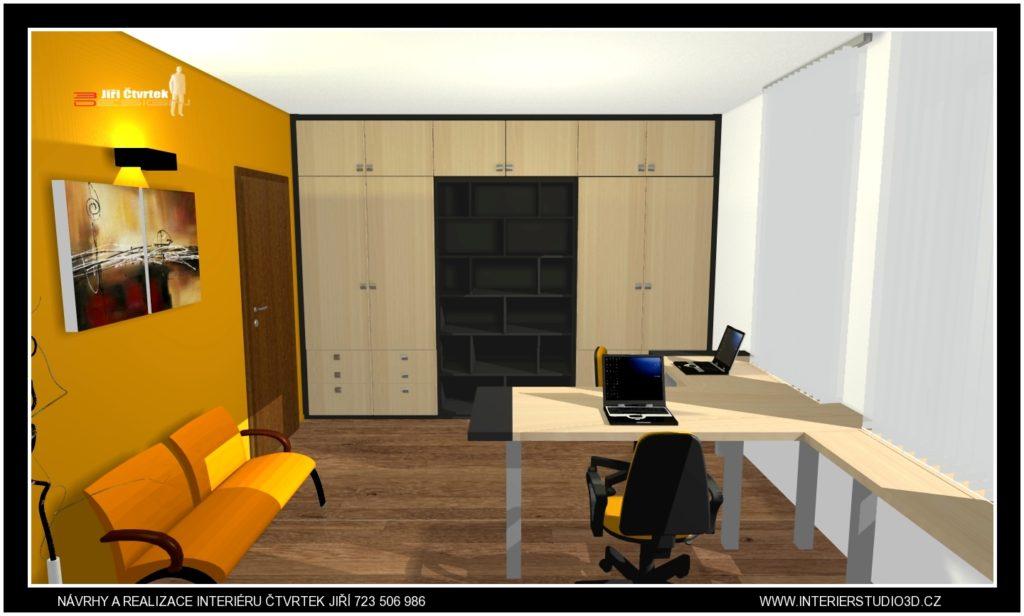 Kancelář pro rodinnou firmu
