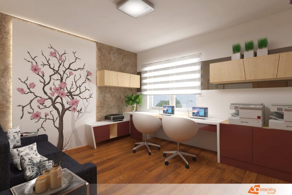 Kancelářský nábytek na míru.